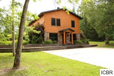Itasca County Single Family Home For Sale: 64765 County Rd 174