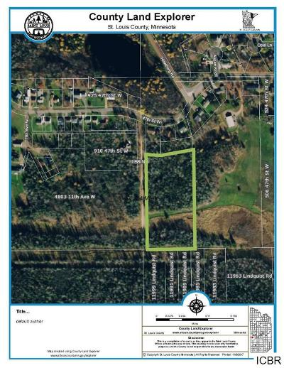 Chisholm, Hibbing Residential Lots & Land For Sale: 47th St