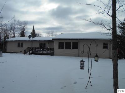 Itasca County Single Family Home For Sale: 24847 Trout Lake Rd