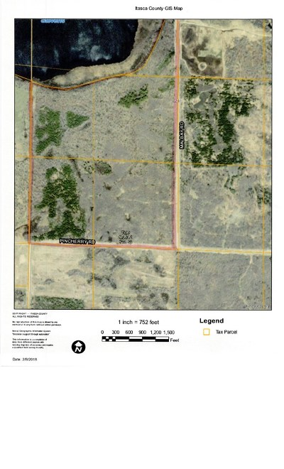 Itasca County Residential Lots & Land For Sale: Pincherry Rd