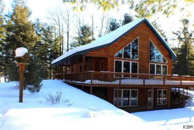 Itasca County Single Family Home For Sale: 24391 E Long Lake Ln