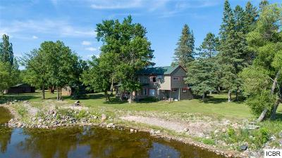 Single Family Home For Sale: 60864 Round Lake Rd