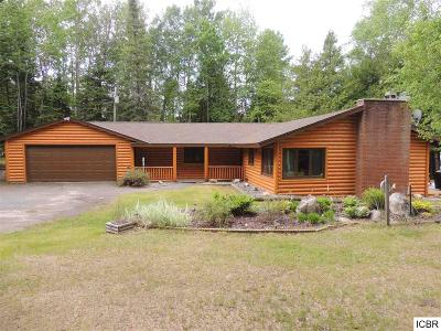 Itasca County Single Family Home For Sale: 52187 Eagle Point Rd