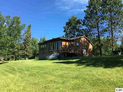 Itasca County Single Family Home For Sale: 47797 E Wolf Lake Trl