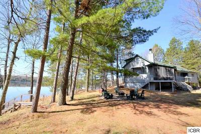 Single Family Home For Sale: 41579 Turtle Lake Rd