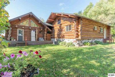Single Family Home For Sale: 49625 Jessie Lake Rd
