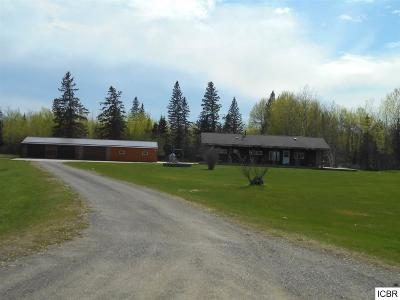 Single Family Home For Sale: 40817 Hwy 2