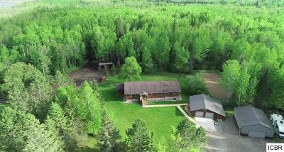 Itasca County Single Family Home Act-Contingent Home Sale: 48733 Northwind Rd