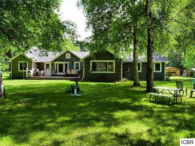 Itasca County Single Family Home For Sale: 33551 Shamrock Dr