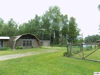 Bigfork MN Single Family Home For Sale: $140,000
