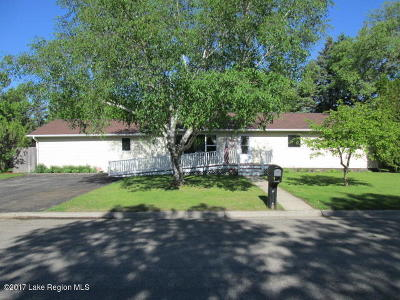 Perham Single Family Home For Sale: 812 4th Ave. SW
