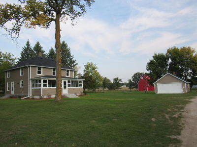 Frazee Single Family Home For Sale: 46370 St Hwy 87