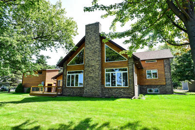 Lake Residential For Sale: 14474 Globstad Beach Rd.