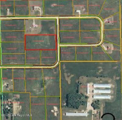 Perham Residential Lots & Land For Sale: Lot 19 413th Avenue