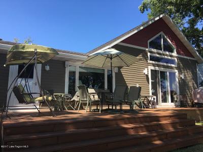 Detroit Lakes Single Family Home For Sale: 11301 W Lake Eunice Road