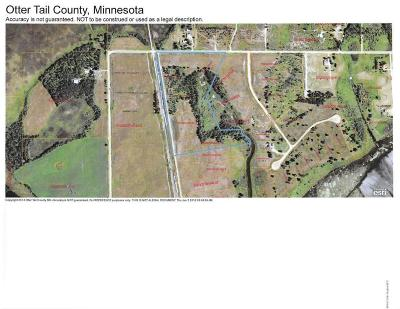 Ottertail Residential Lots & Land For Sale: Parcel-J 355th Street