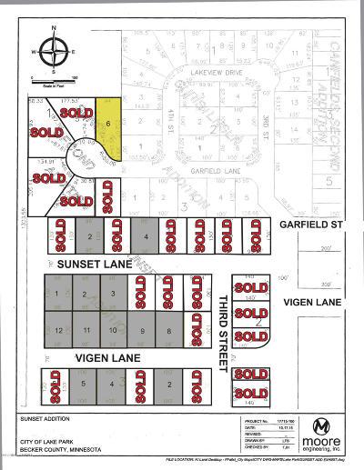 Lake Park Residential Lots & Land For Sale: Lot 6 Garfield Lane