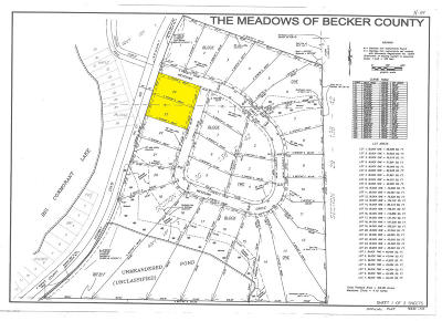 Audubon Residential Lots & Land For Sale: Meadows Circle