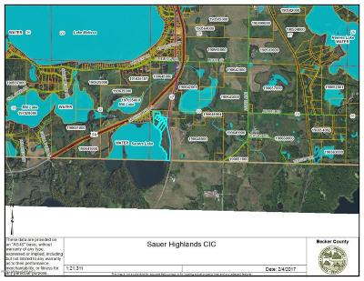 Detroit Lakes Residential Lots & Land For Sale: Tbd 1-7 Grandview Circle