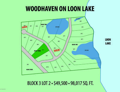 Vergas Residential Lots & Land For Sale: Lot 2 Blk 3 Woodhaven