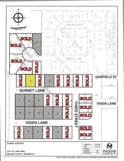 Lake Park Residential Lots & Land For Sale: 313 Sunset Lane