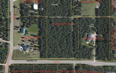Perham Residential Lots & Land For Sale: Xxx 443rd St