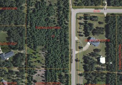 Perham Residential Lots & Land For Sale: Xxx 452nd Ave