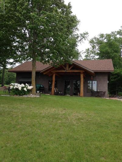 Waubun Single Family Home For Sale: 26831 McCraney Lake Road
