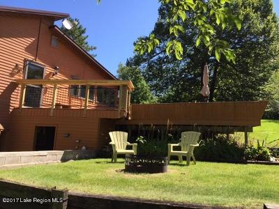 Detroit Lakes Single Family Home For Sale: 26124 Little Pelican Trail
