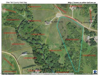 Perham Residential Lots & Land For Sale: Tbd 1 Tadpole Road