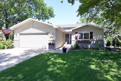 Fargo Single Family Home For Sale: 235 Prairiewood Drive S