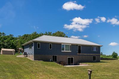 Vergas Single Family Home For Sale: 100 Town Line Road S