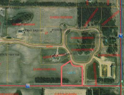 Perham Residential Lots & Land For Sale: Lot H Easy Lane