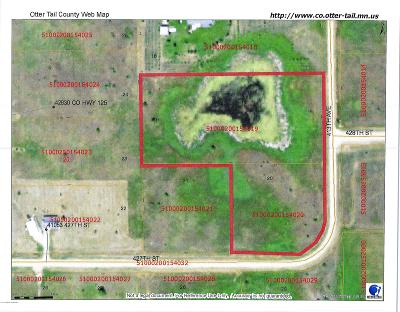 Perham Residential Lots & Land For Sale: Lot 19&20 413th Avenue