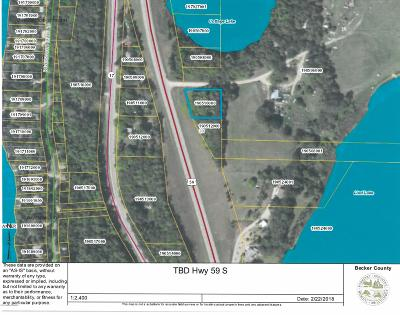 Detroit Lakes Residential Lots & Land For Sale: Hwy 59 S