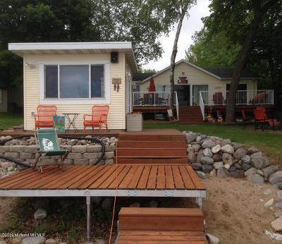 Single Family Home For Sale: 1244 E Shore Drive