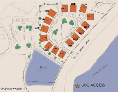Detroit Lakes Residential Lots & Land For Sale: 25-26 Tbd South Shore Drive