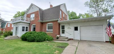 Lake Park Single Family Home For Sale: 2021 2nd Street