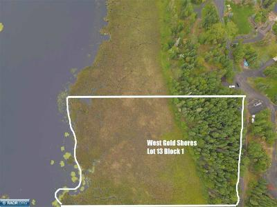 International Falls MN Residential Lots & Land For Sale: $69,000