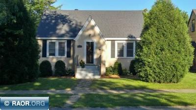 Hibbing, Chisholm Single Family Home For Sale: 2826 E 3rd Avenue
