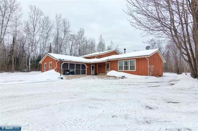 Hibbing, Chisholm Single Family Home For Sale: 11395 Spudville Rd