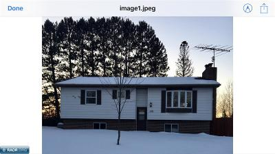 Hibbing, Chisholm Single Family Home For Sale: 1531 NW 2nd Ave