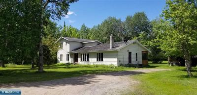 International Falls MN Single Family Home For Sale: $205,000