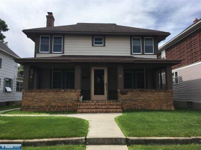 Hibbing, Chisholm Single Family Home For Sale: 21 1st St SW