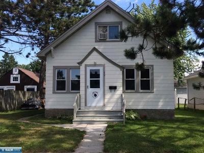 Hibbing, Chisholm Single Family Home For Sale: 404 NW 9th St
