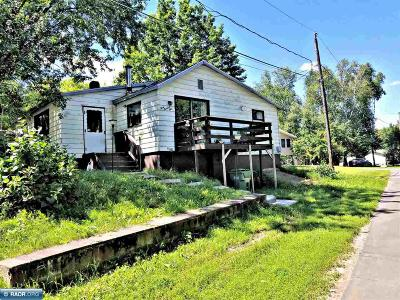 Hibbing, Chisholm Single Family Home For Sale: 309 1/2 2nd Ave N
