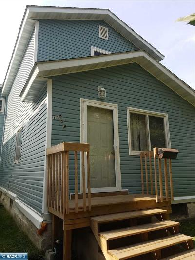 Hibbing, Chisholm Single Family Home For Sale: 1709 E 4th Ave