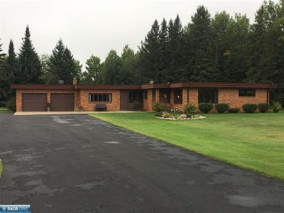 Hibbing, Chisholm Single Family Home For Sale: 10292 Hwy 37