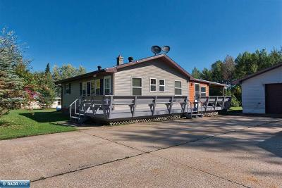 Hibbing, Chisholm Single Family Home For Sale: 3686 Rainey Road