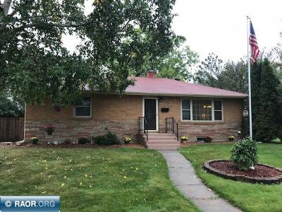 Hibbing, Chisholm Single Family Home For Sale: 3103 Outer Drive